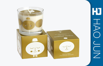 Retail Luxury Candle Box Candle Tube Packaging With Bio - Degradable Materials