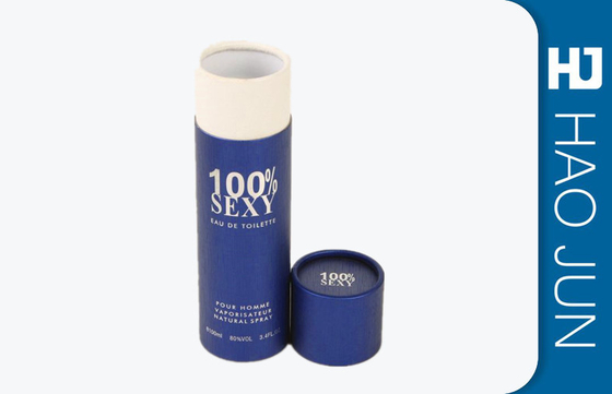 Custom Printing Glossy Round Packaging Boxes , Cylinder Mailing Tubes For Sex Toy
