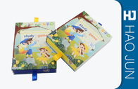 Handmade Cardboard Gift Boxes Coating Paper For Children Study Books