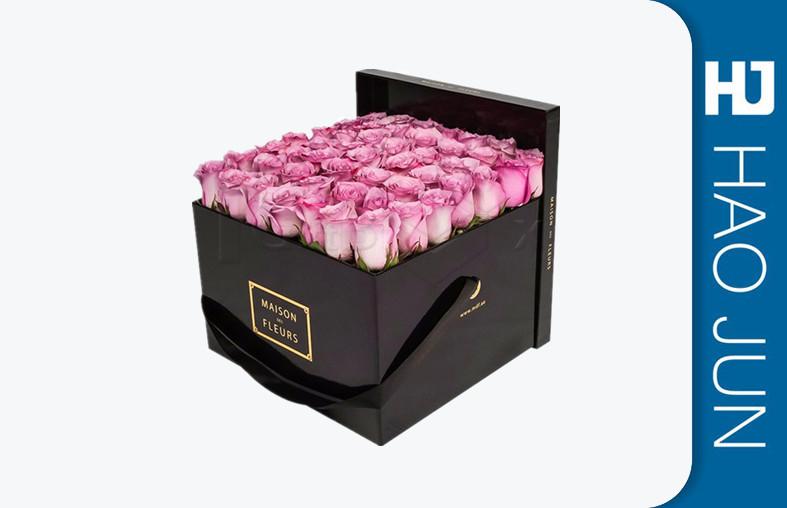 Customized Rose Packaging Box For Flowers Wholesale Cardboard Flower Boxes For Packing