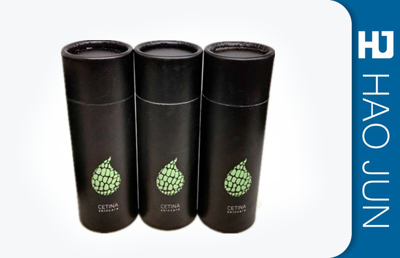 Fashion Water Proof Printed Cardboard Tubes Packaging With End Caps