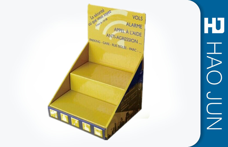 Custom Printed Cardboard Display Boxes Recyclable With Two Tiers