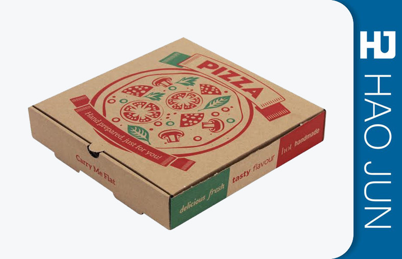 "Custom Efluting Paper Cardboard Food Boxes For Pizza 8"" 10"" 12"" Size"