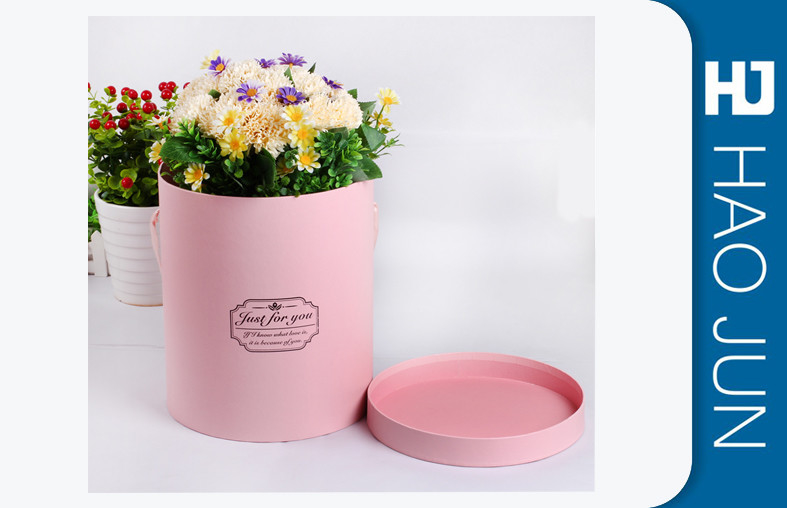 Hot Selling With 6 Colors Cardboard Flower Boxes,Flower Cardboard Packaging