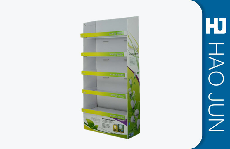 Supermarket Cardboard Display Stands For Products , Cardboard Promotional Stands