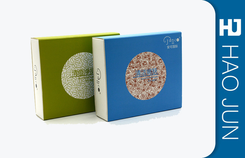 Cardboard Gift Packaging Cosmetic Paper Boxes For Skin Care Products , OEM Service