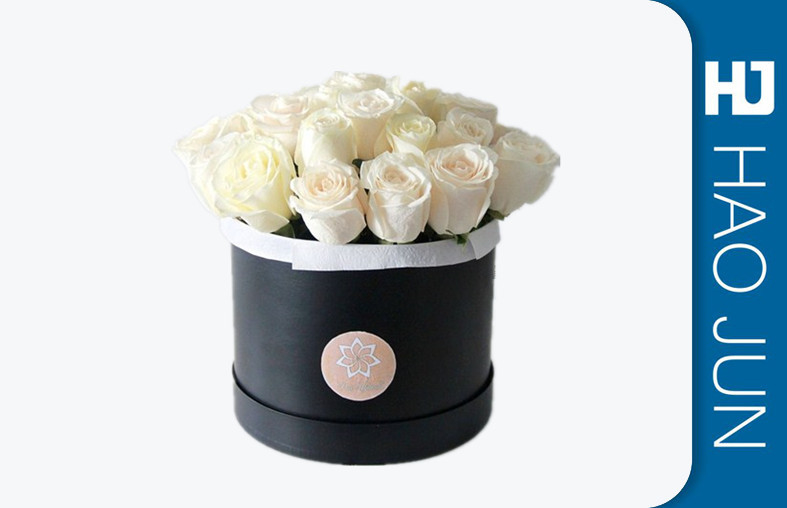 Cylinder Cardboard Flower Packaging Boxes For Wedding Gift , Eco - Friendly