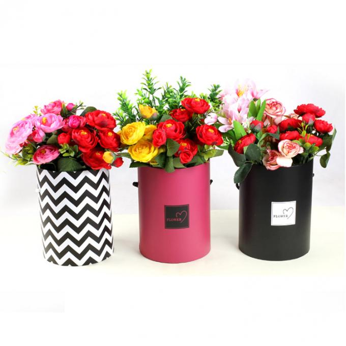 Customized Fashionable Recycled Packaging Cardboard Flower Boxes Flower Bouquet Boxes