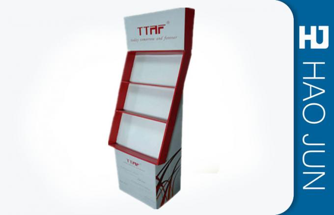 Advertising Free Standing Cardboard Displays / Cardboard Shop Displays