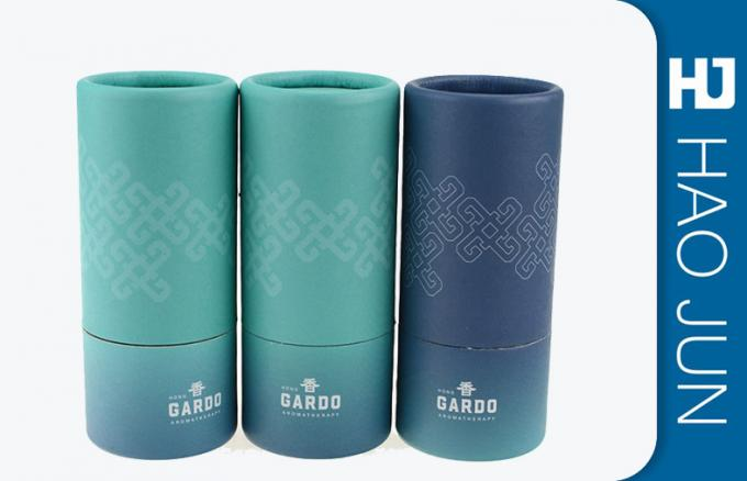 100% Recycled Round Cardboard Tube Containers For Gift Package , Free Sample