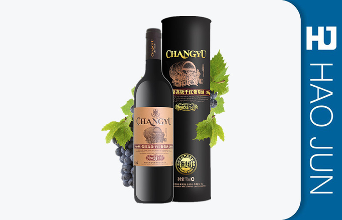 Professional Printed Luxury Cardboard Wine Tubes Biodegradable For Gift