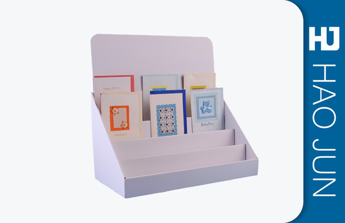 Christmas Gifts Template Retail Display Boxes For Books / Corrugated Pop Displays