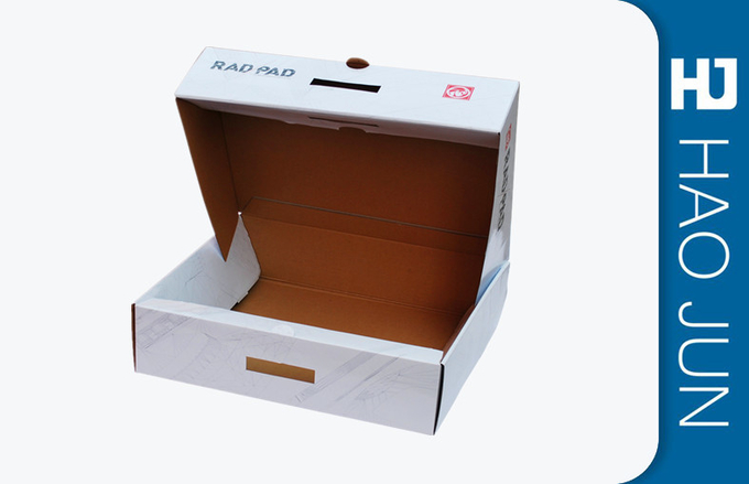 Glossy Lamination Corrugated Cardboard Boxes For Bluetooth Keyboard